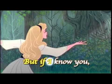 Sleeping Beauty - Once Upon A Dream -Sing Along Song with Lyrics - Disney