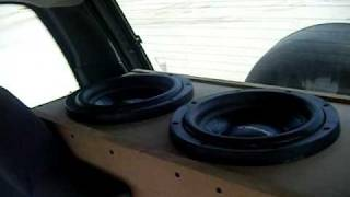 wiz khalifa in the cut car audio american bass xfl 10 subwoofer excursion
