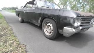 $100 dual 2.5 inch exhaust 66 buick skylark cheap hot rod project