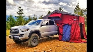 Rooftop Tent Initial Review - CVT (Cascadia Vehicle Tents) Mt. Rainier - on a Toyota Tacoma