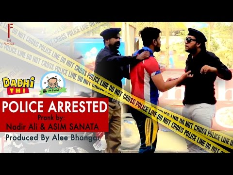 | Police Arrested prank | By Nadir Ali And Asim Sanata & Ahmed Khan in | P4 Pakao |