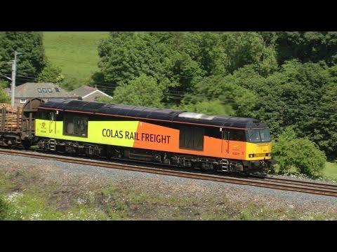 Colas Logs on Shap - Class 60 Action