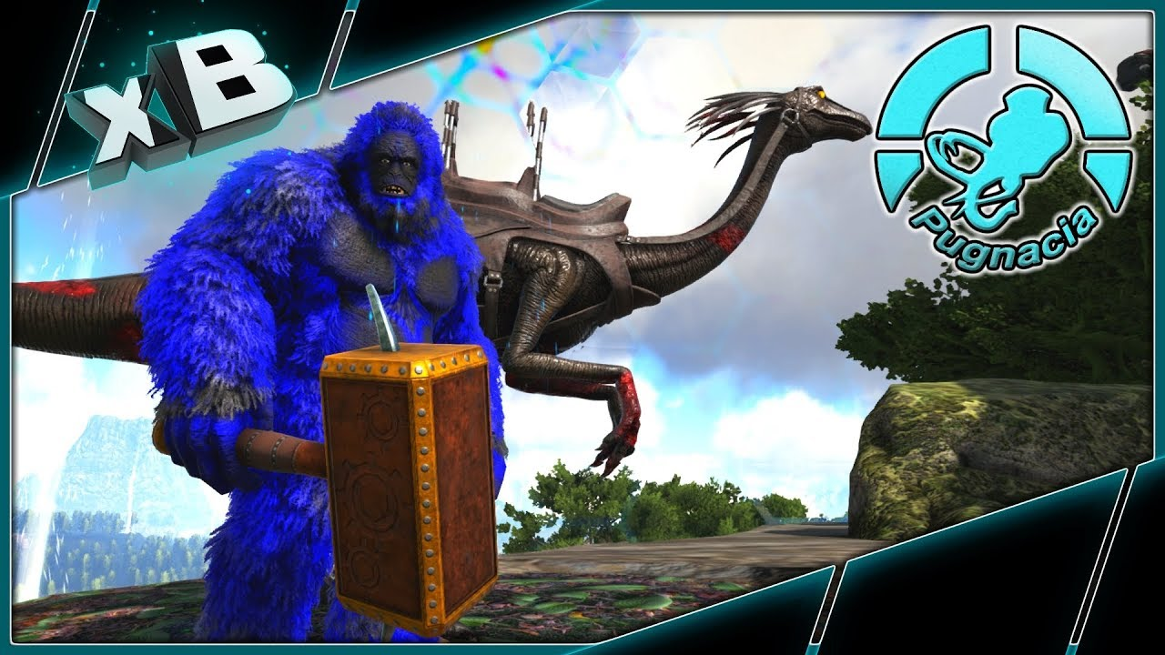 PRIMAL BIGFOOT & SUPER SPEED ZOMBIE GALLI! :: MODDED ARK: PUGNACIA