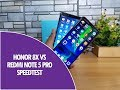 Honor 8x vs Xiaomi Redmi Note 5 Pro Speedtest Comparison