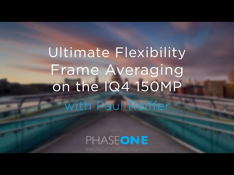 Education | Ultimate Flexibility with Frame Averaging on the IQ4 150MP | Phase One