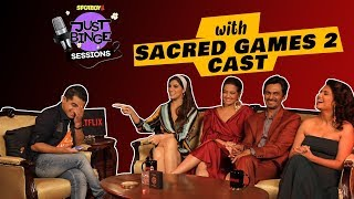 Sacred Games 2 Interview | Ganesh Gaitonde aka Nawazuddin Siddiqui gets Candid | Just Binge Sessions