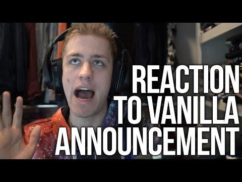 Sodapoppin Talks About His Reaction To The Vanilla WoW Announcement!