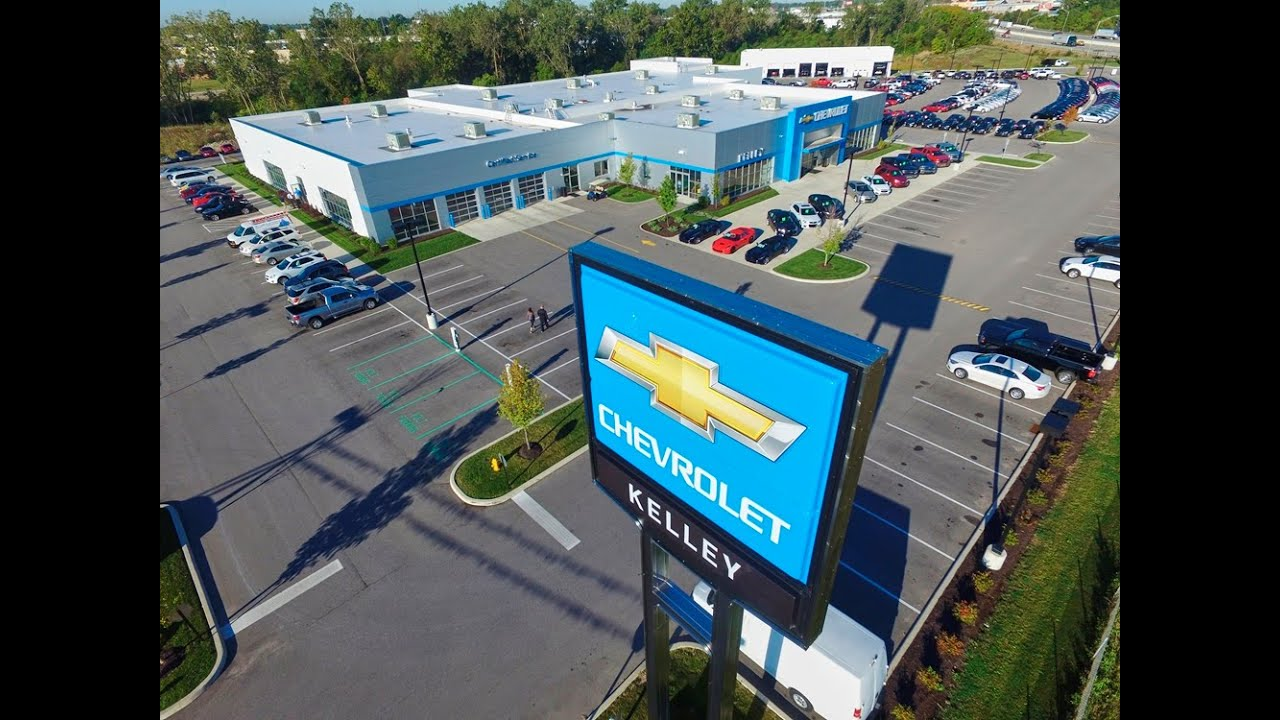 Kelley Chevrolet Aerial Video   YouTube