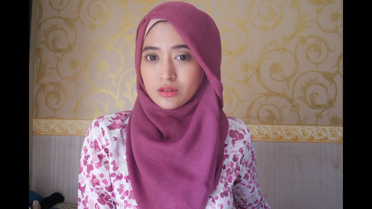 60 Hijab Tutorial Natasha Farani Paris Segi Empat YouTube