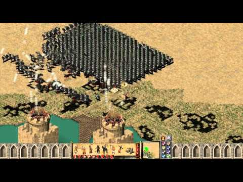 Stronghold Crusader How to Properly Defend Your Castle Against 1000 Horse Archers