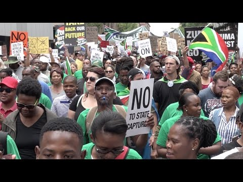 Tshwane Anti-Zuma peoples march