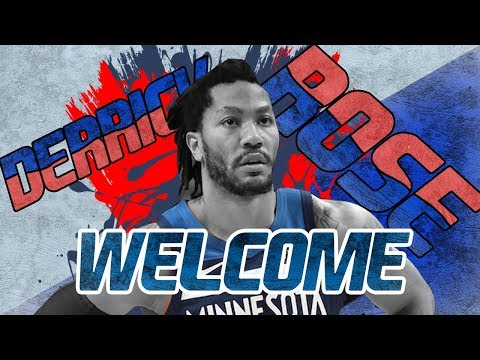 DERRICK ROSE WELCOME TO DETROIT PISTONS || DERRICK ROSE HIGHLIGHTS Y MOMENTS 2018/2019