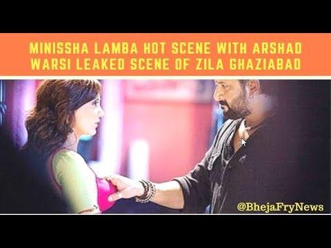 Minissha Lamba Hot  With Arshad Warsi Leaked  of Movie Zila Ghaziabad