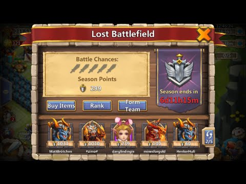 Best Way To Get The Most Fame Out Of Lost BattleField Castle Clash