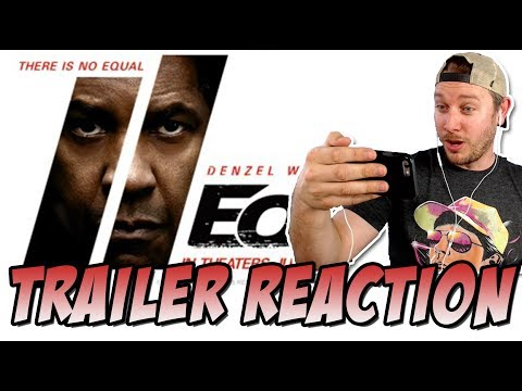 The Equalizer 2 Trailer Reaction (From  Antoine Fuqua & Denzel Washington)