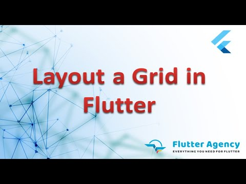 How to Layout a Grid In Flutter?