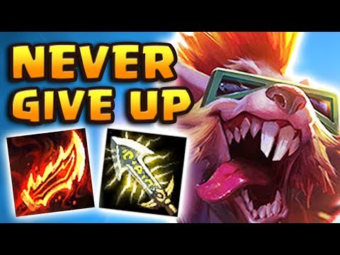 3.71 ATTACK SPEED TWITCH JUNGLE | HE GOT A 222 GAME CHAT RESTRICTION AFTER THIS ONE | NEVER GIVE UP