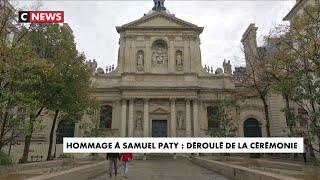 Hommage à Samuel Paty : le déroulé de la cérémonie