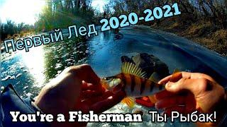 Первый лед 2020 2021 Рыбалка на окуня Рыбалка на озере Рыбалка на реке Наконец то ЛЁД