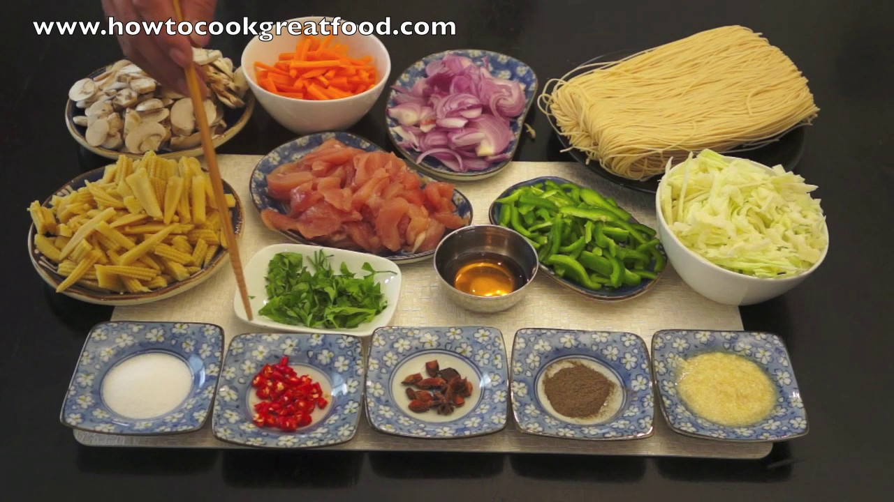 how to cook chinese noodles at home