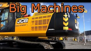 JCB JS 330 Lc Excavator Vs JCB 457 Wheel Loader Big Machine
