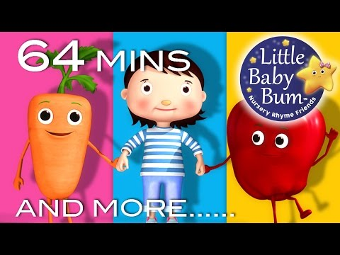 Eat Your Vegetables Song | Plus Lots More Nursery Rhymes | 64 Mins Compilation from LittleBabyBum!