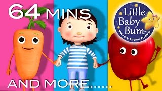 Eat Your Vegetables Song | And More Nursery Rhymes | From LittleBabyBum
