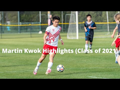 Martin Kwok Highlights || Shanghai American School - Stoke City Men's Team Shanghai || Class of 2021