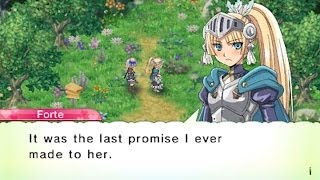 Rune Factory 4 Forte Proposal Event & Wedding