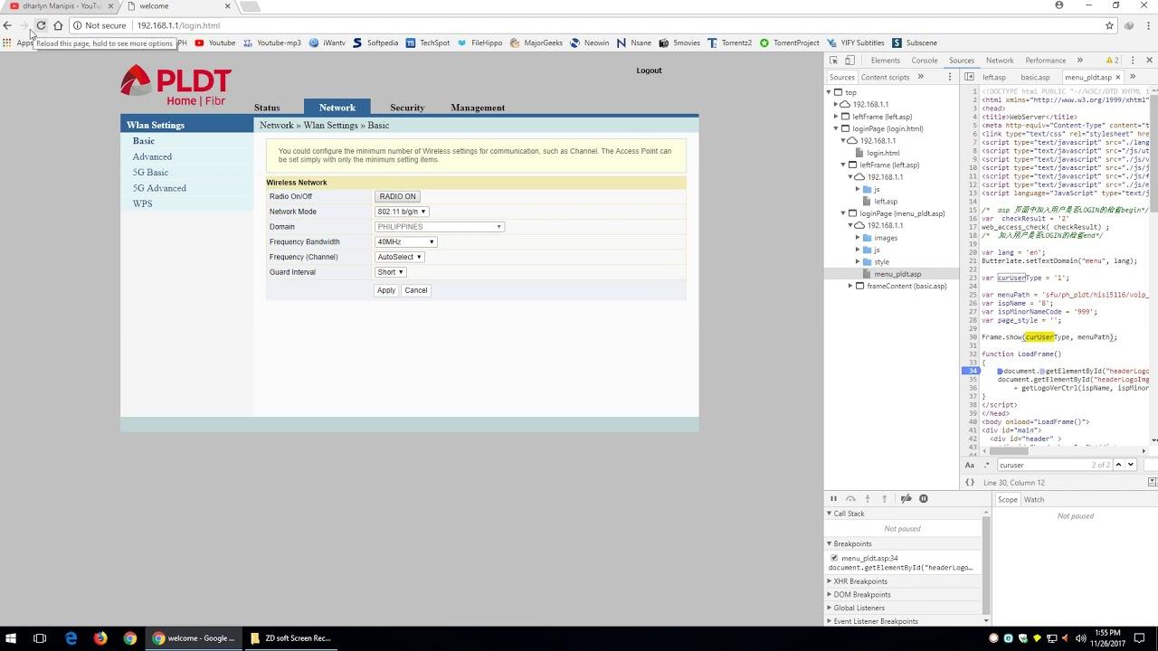 PLDT Fibr ONU enable full access (LAN 1-4 enable) FULL SIZE