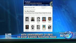 65 years of FBI's 10 'Most Wanted' list