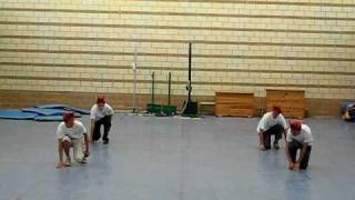 Coreografia de Aerobic de Educación Física 4ºD (IES Fernando Savater 2009)
