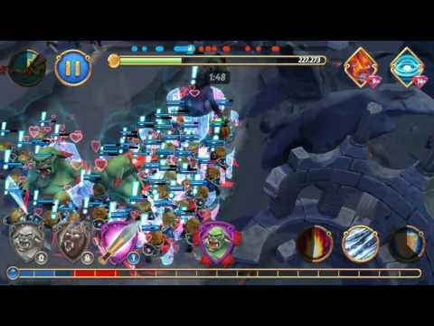 Using Ogre, WereWolf & Knight In Battle - Royal Revolt 2