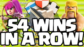 Clash of Clans ♦ 54 War Wins in a ROW! ♦ CoC World Record?! ♦