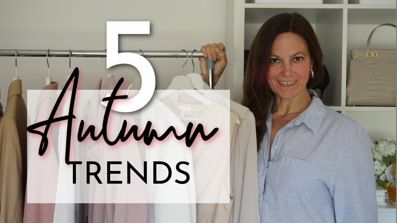 5 EASY Autumn Fall 2021 fashion trends to try