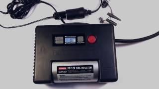 COIDO 6312D автомобильный компрессор с цифровым манометром смотреть