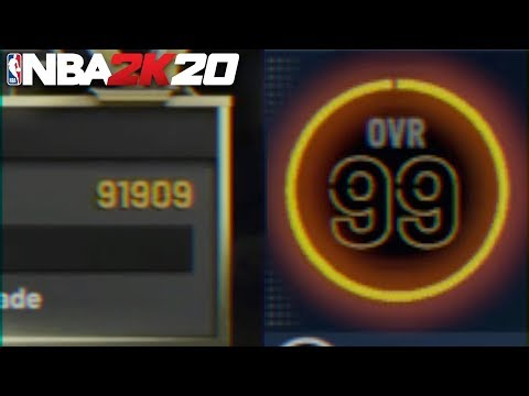 Best Way To Hit 99 Overall In 1 Day In NBA 2K20 | Best 99 Overall Method | 90K+ Per Game