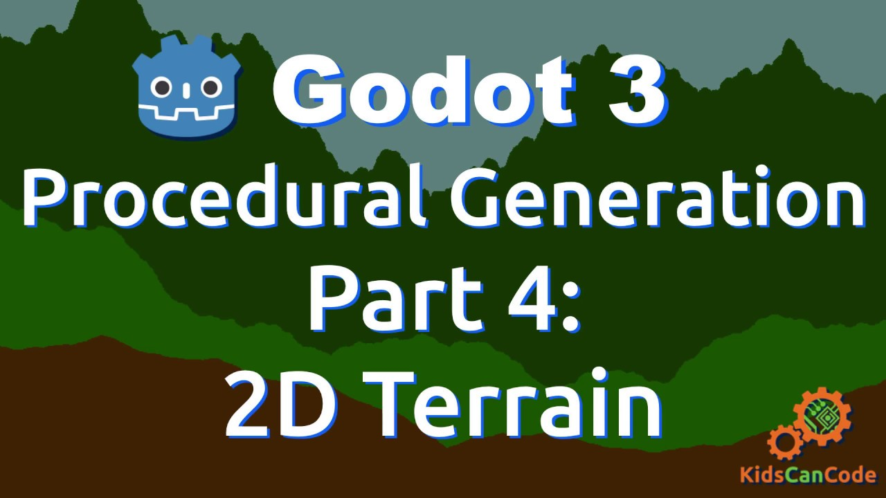 Procedural Generation in Godot Part 4: 2D Terrain (Midpoint Displacement)