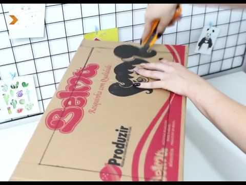 Diy's for children toy kitchen using cardboard