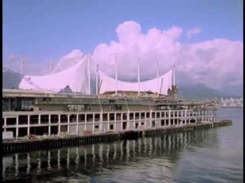 Construction of the Vancouver Trade and Convention Centre in 1984
