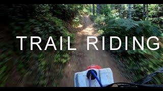 Dirt bike riding Wide Trails  (Dirtbike Riding: S5 E11)