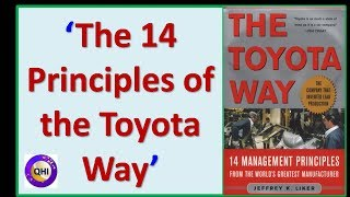 Toyota Waythe Principles Of The Toyota Way