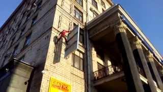 видео Монтаж рекламных конструкций. Полезные советы » Арбис - печать баннеров, плакатов наружная реклама изготовление в Москве