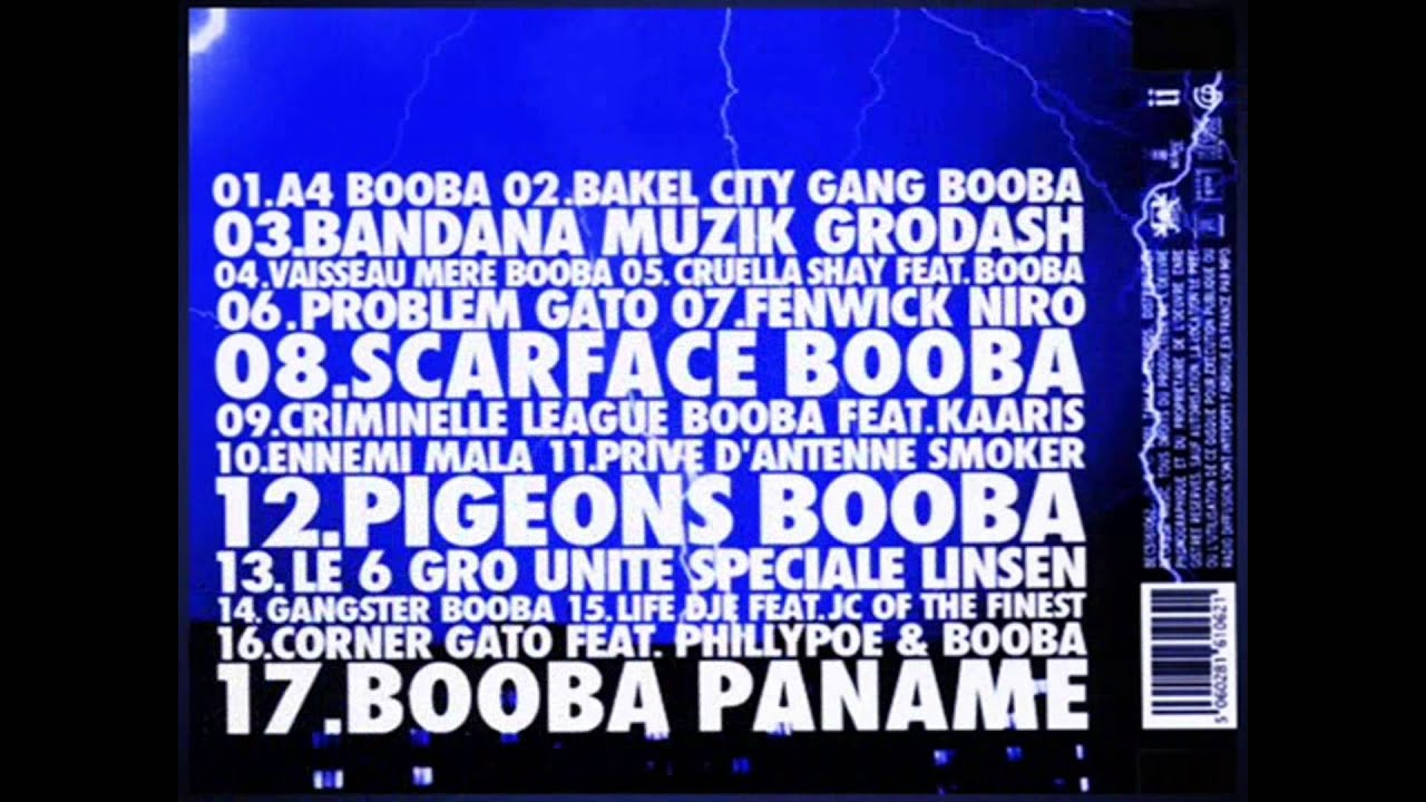 booba gangster