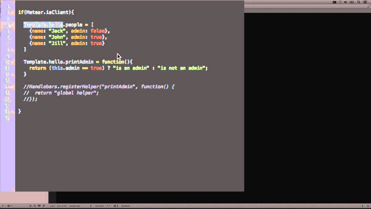 Diving into Meteor.JS - Template Reactivity (Part 14 of 17) - YouTube