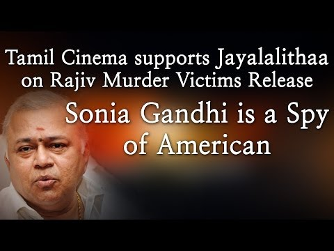 Tamil cinema supports Rajiv murder victims release - Let Us Thanks Jayalalith redpix 24X7   A day after the Supreme Court commuted death sentences of three men convicted in the Rajiv Gandhi assassination case, the Tamil Nadu cabinet on Wednesday decided to release them and other convicts after due consultations with the Centre.