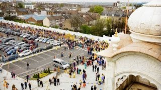Vaisakhi Celebrations At Gravesend Gurdwara, Kent.. 2014