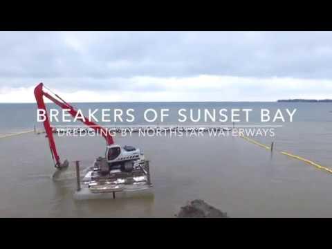 Dredging Breakers of Sunset Bay