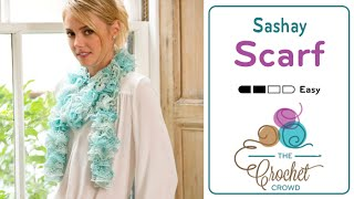 Crochet with Sashay by Red Heart Boutiqu...