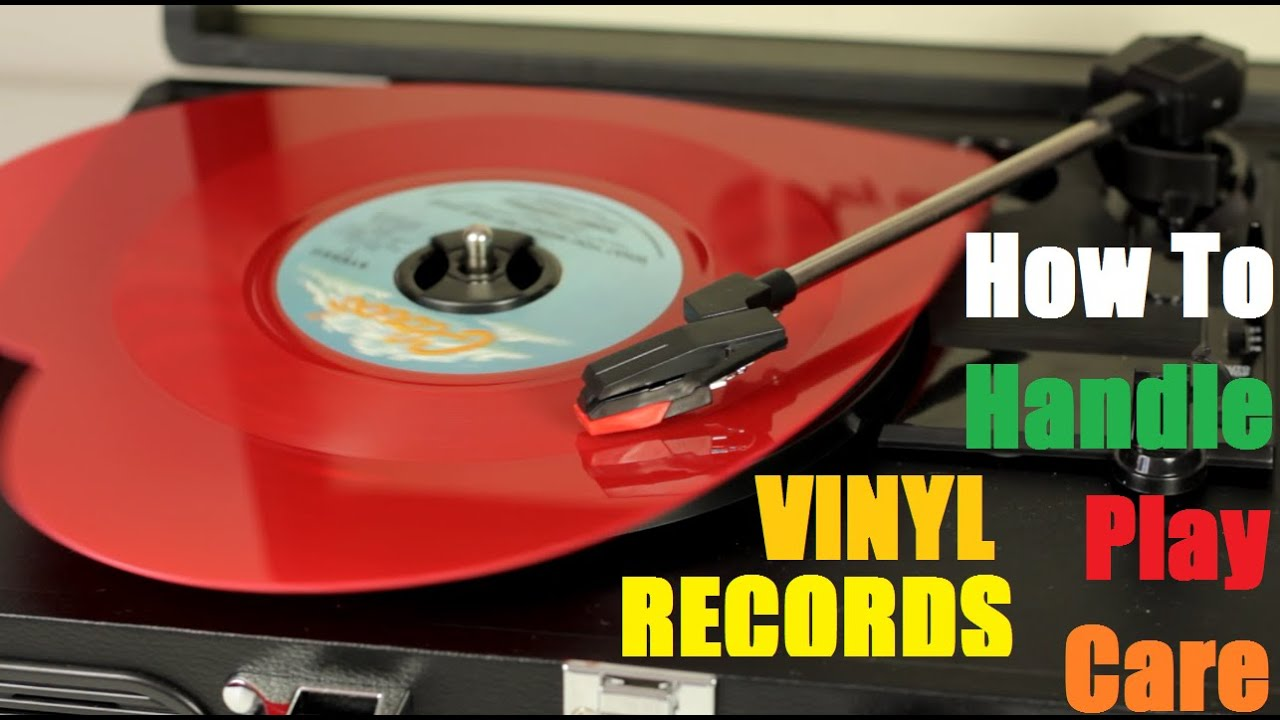 How To Play Handle Care Store Vinyl Records - YouTube